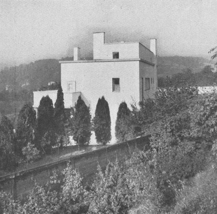 Villa Münz Objekte Brünner Architekturmanual Handbuch Zur